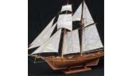 """Дерев""""яна модель корабля """"HARVEY"""" 1/96 W9601 12+"""